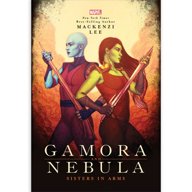 Gamora and Nebula: Sisters in Arms Book