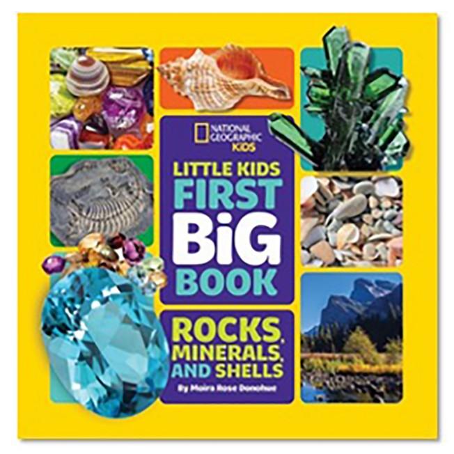 Little Kids First Big Book of Rocks, Minerals and Shells