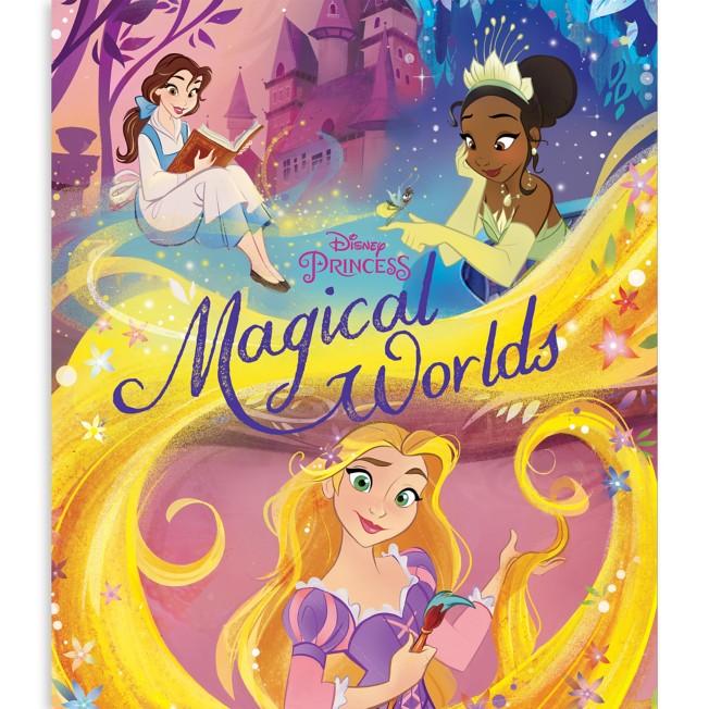 Disney Princess Magical Worlds Book