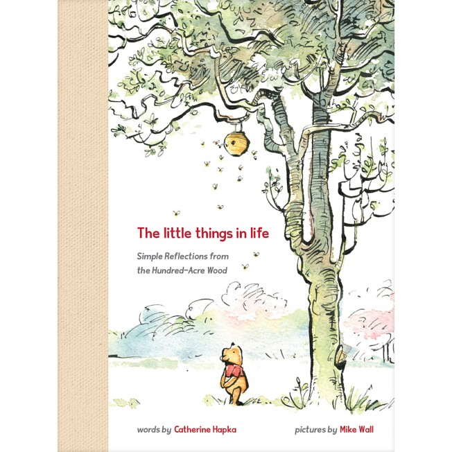 Winnie the Pooh the Little Things in Life Book