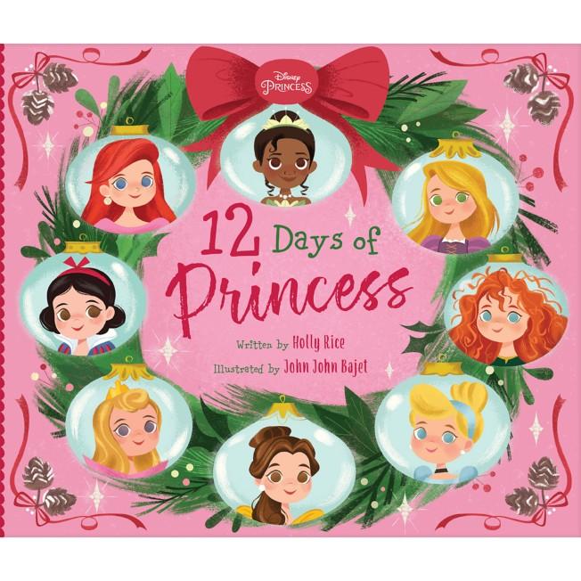 12 Days of Princess Book