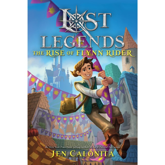 Lost Legends: The Rise of Flynn Rider Book