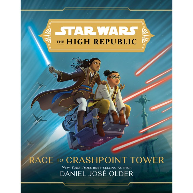 Star Wars: The High Republic: Race to Crashpoint Tower Book