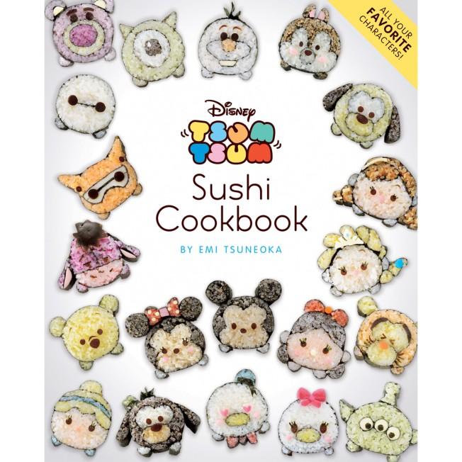 Disney Tsum Tsum Sushi Cookbook