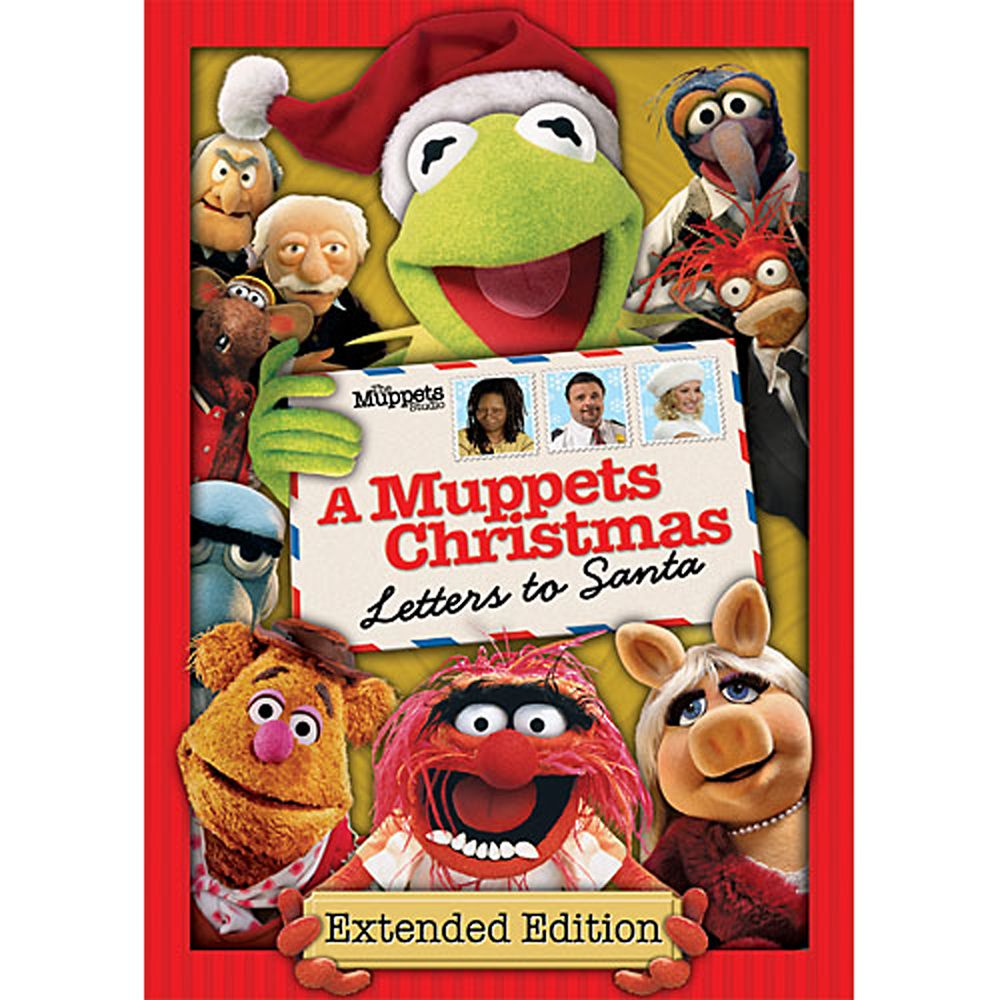 A Muppets Christmas: Letters to Santa DVD Official shopDisney