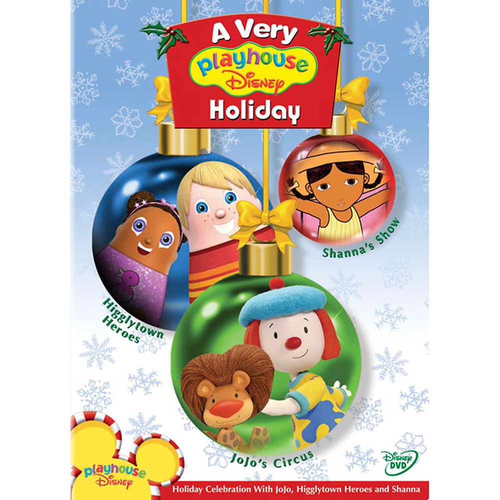 A Very Playhouse Disney Holiday DVD