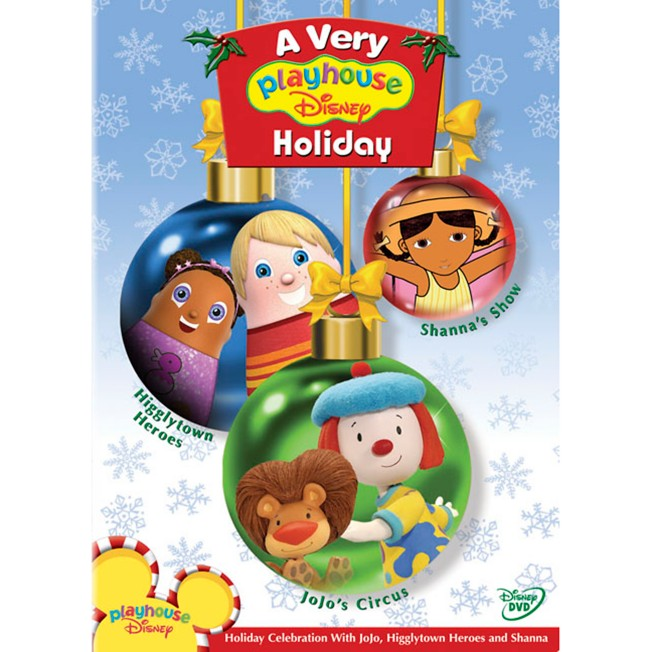 A Very Playhouse Disney Holiday DVD