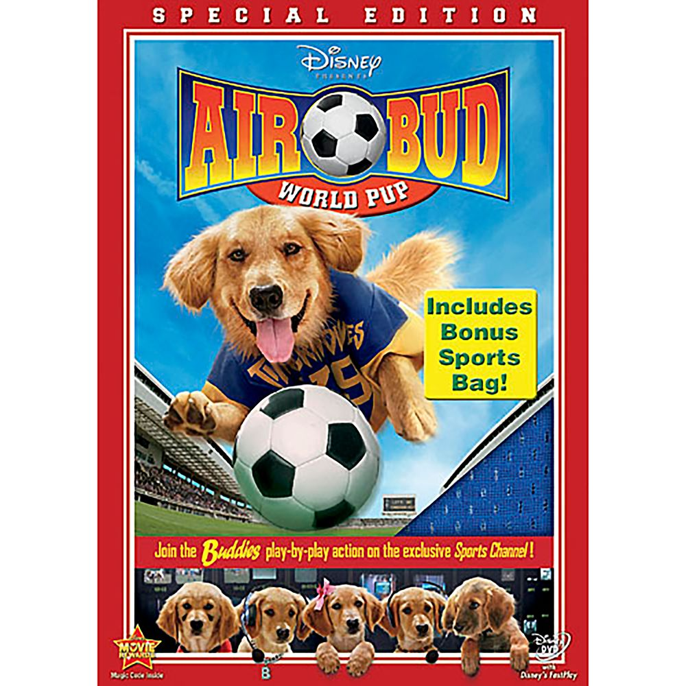 Air Bud: World Pup DVD Official shopDisney