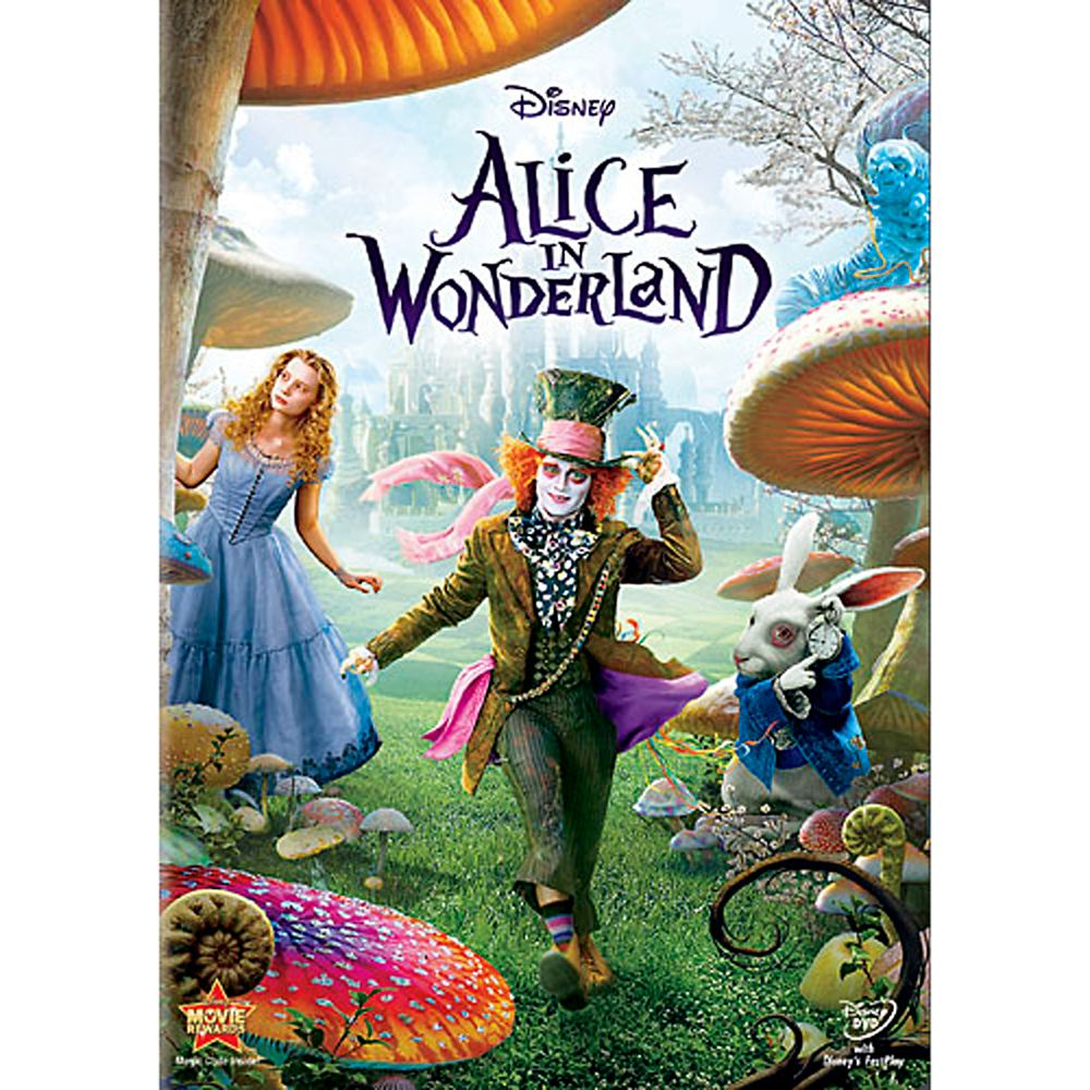 Alice In Wonderland DVD Official shopDisney