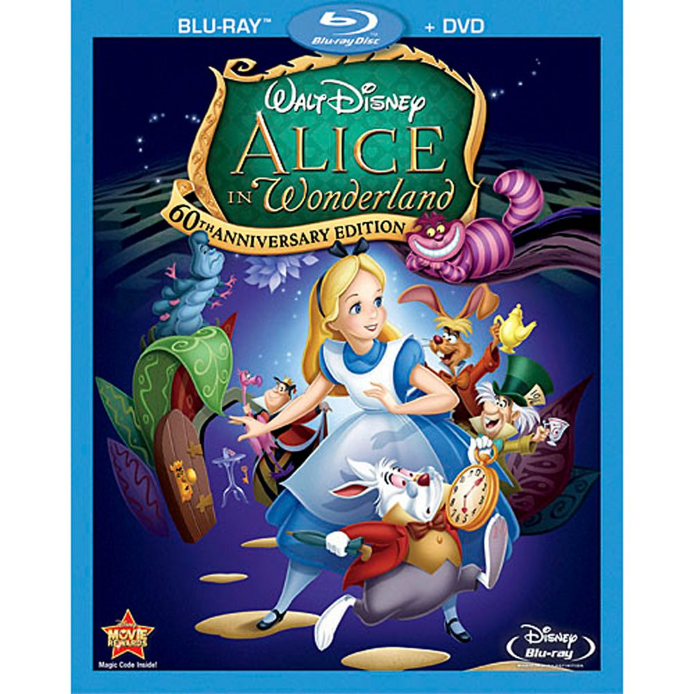 Alice in Wonderland  Blu-ray Combo Pack Official shopDisney
