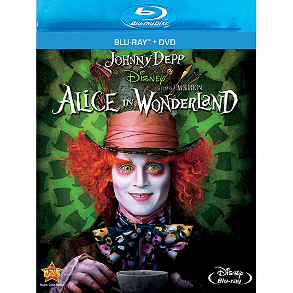 Alice In Wonderland  2-Disc Blu-ray + DVD Combo Pack Official shopDisney