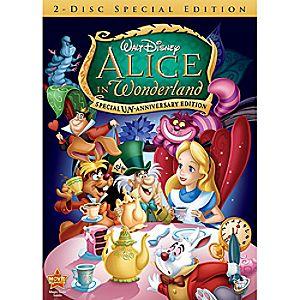 Alice in Wonderland 2-Disc DVD