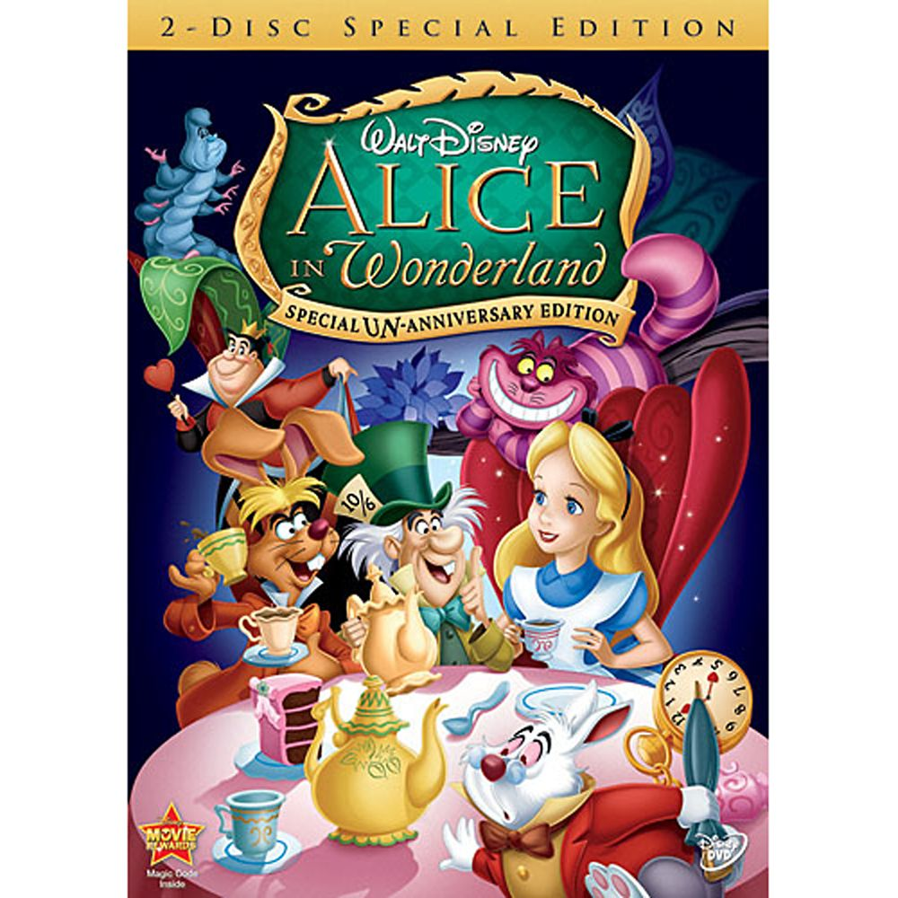 Alice in Wonderland 2-Disc DVD Official shopDisney