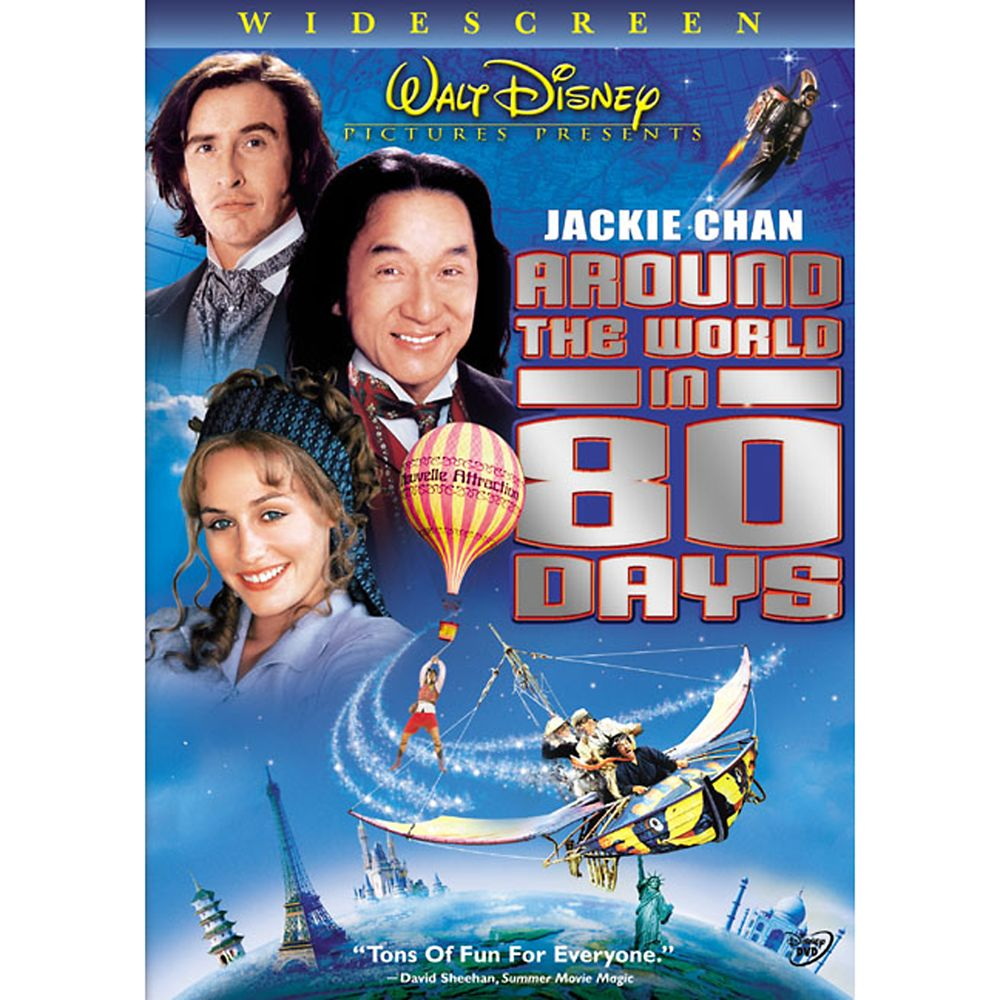 Around The World In Eighty Days DVD – Widescreen