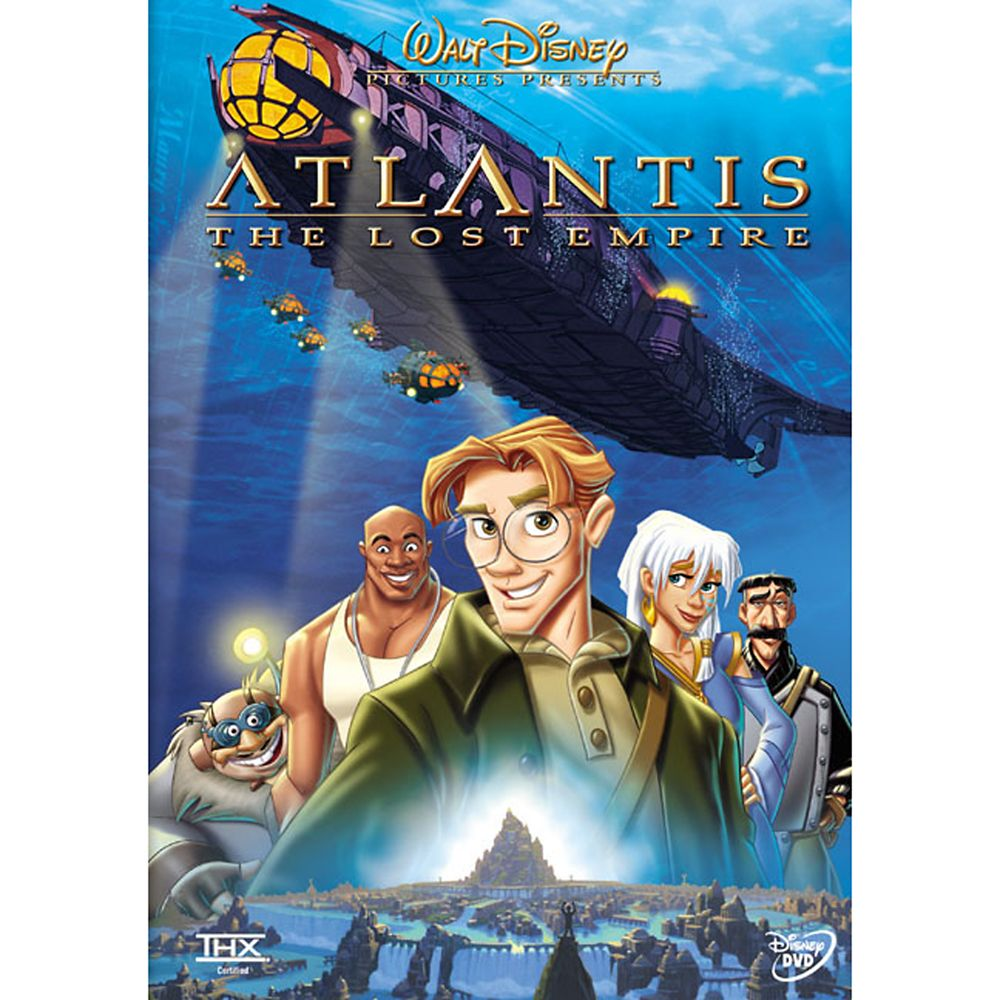 Atlantis: The Lost Empire DVD