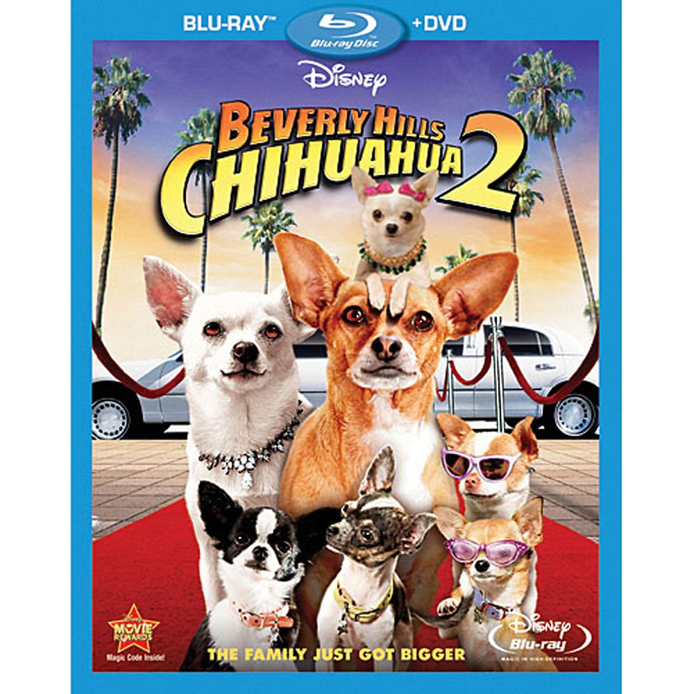 Beverly Hills Chihuahua 2 Blu-Ray and DVD Official shopDisney