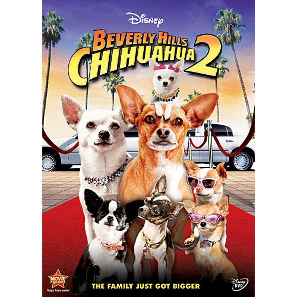 Beverly Hills Chihuahua 2 DVD Official shopDisney