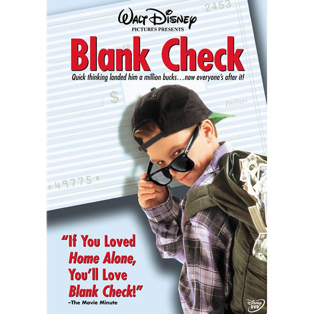 Blank Check DVD Official shopDisney