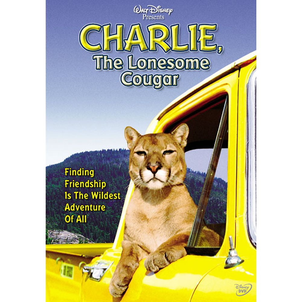 Charlie, the Lonesome Cougar DVD Official shopDisney
