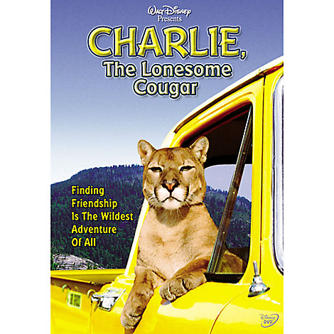 Charlie, the Lonesome Cougar DVD