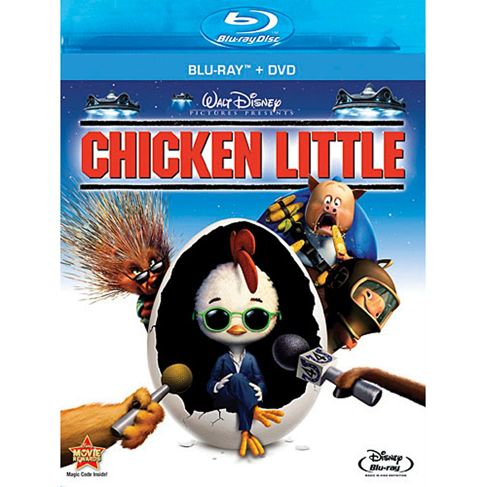 Chicken Little  2-Disc Combo Pack Official shopDisney