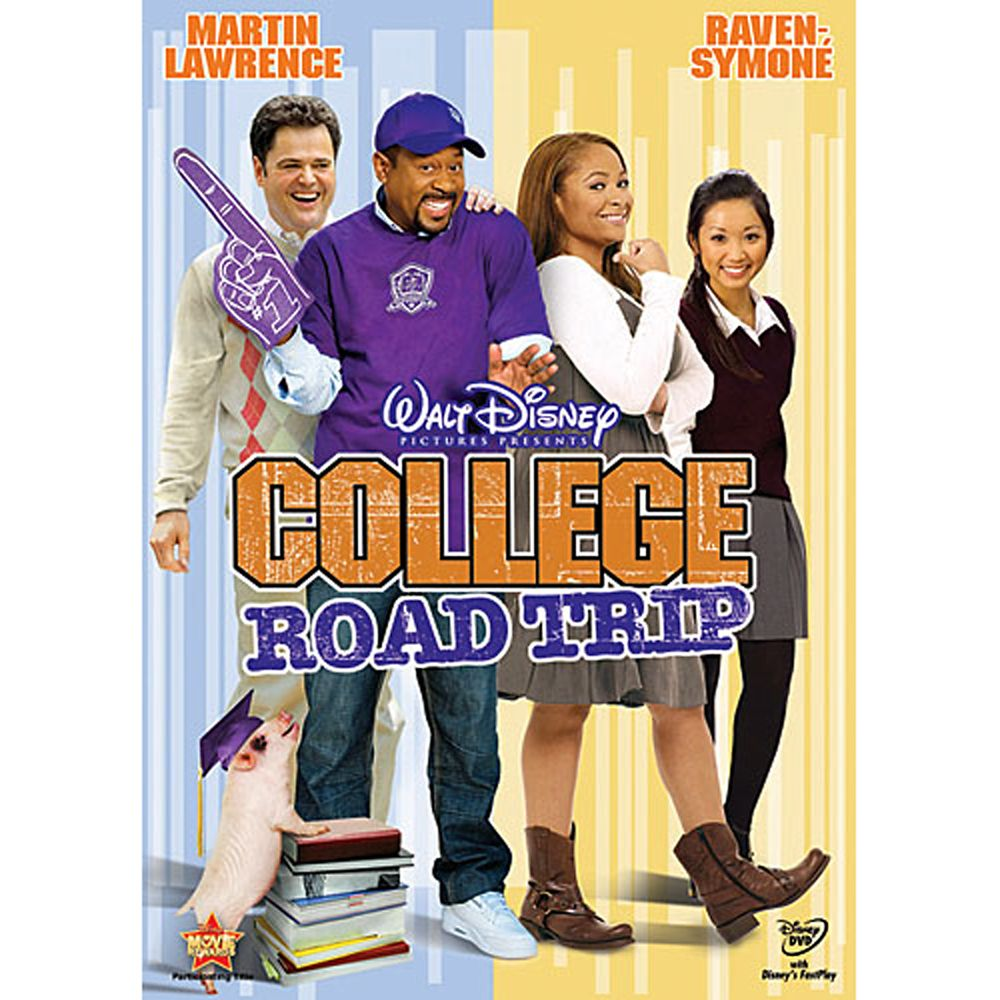 College Road Trip DVD Official shopDisney