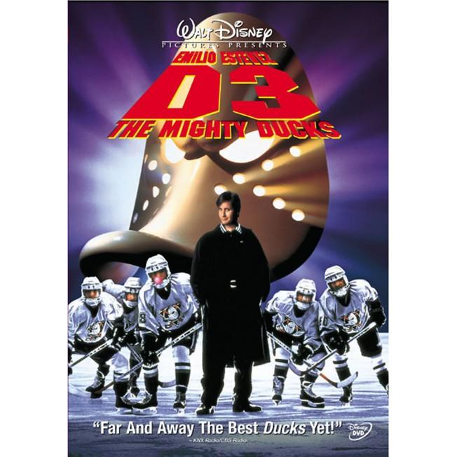 D3: The Mighty Ducks DVD