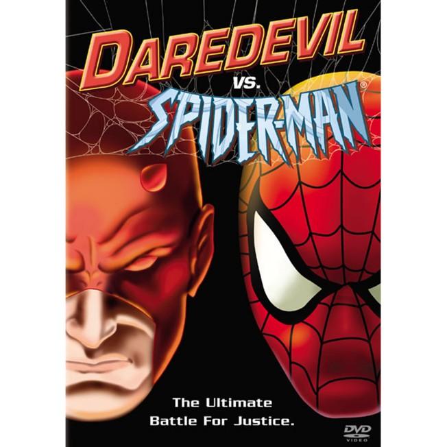 Daredevil vs. Spider-Man DVD