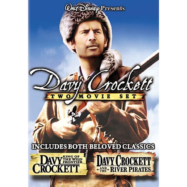 Davy Crockett Two Movie Set DVD