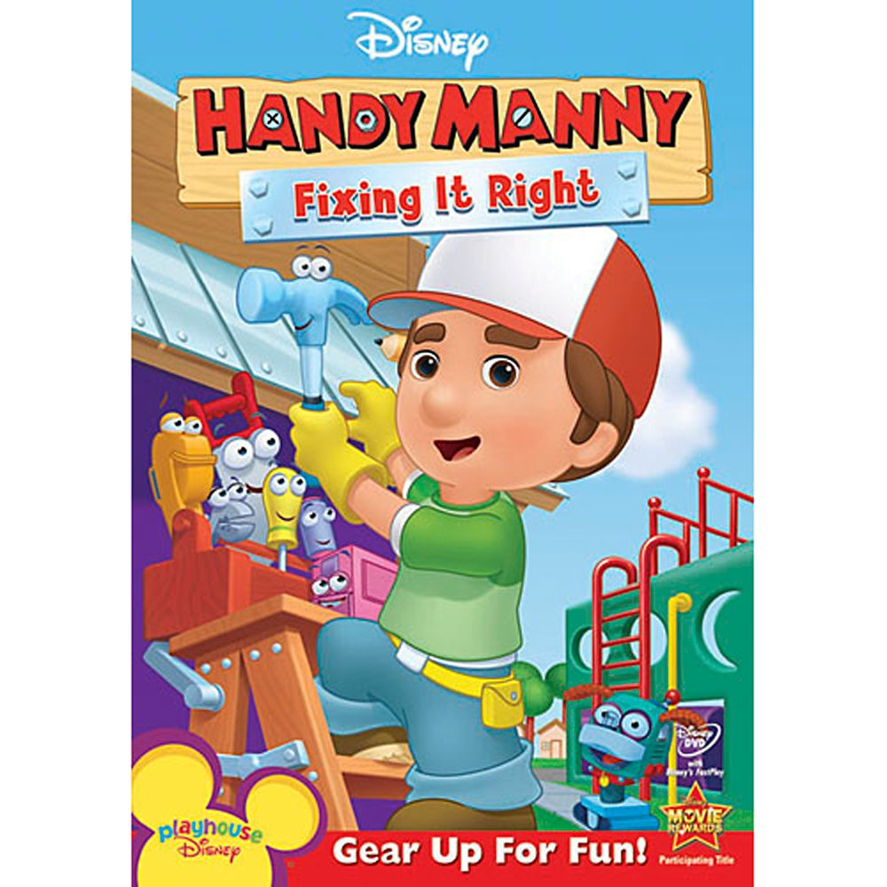 Handy Manny: Fixing It Right DVD Official shopDisney