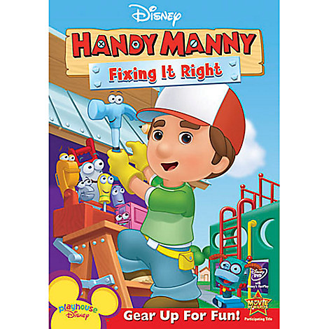 Handy Manny: Fixing It Right DVD