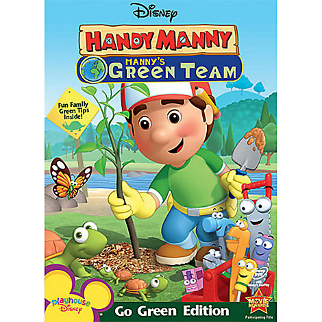 Handy Manny: Manny's Green Team DVD
