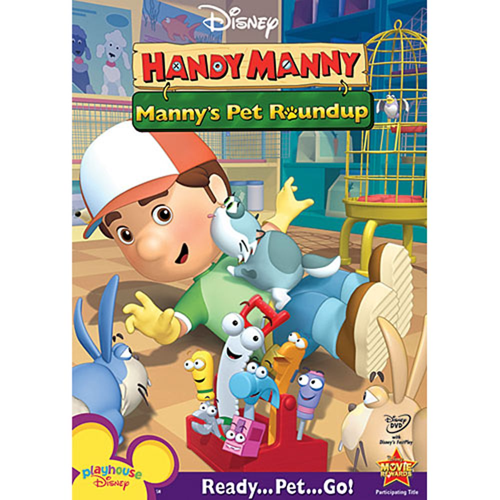 Handy Manny: Manny's Pet Roundup DVD Official shopDisney