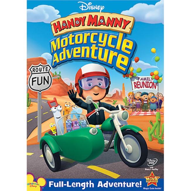 Handy Manny: Motorcycle Adventure DVD