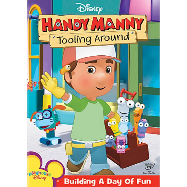 Handy Manny: Tooling Around DVD