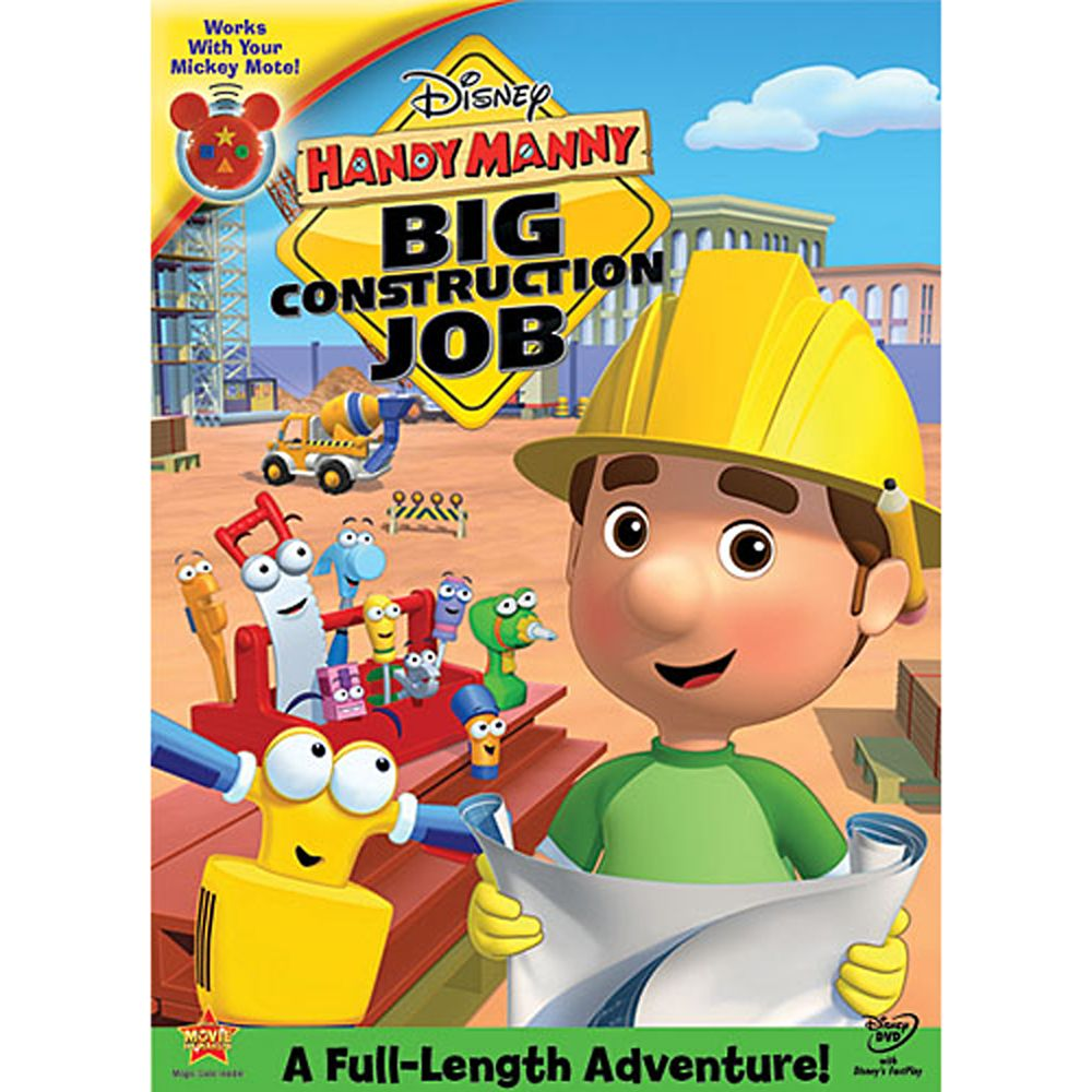 It is a graphic of Hilaire Handy Manny Images
