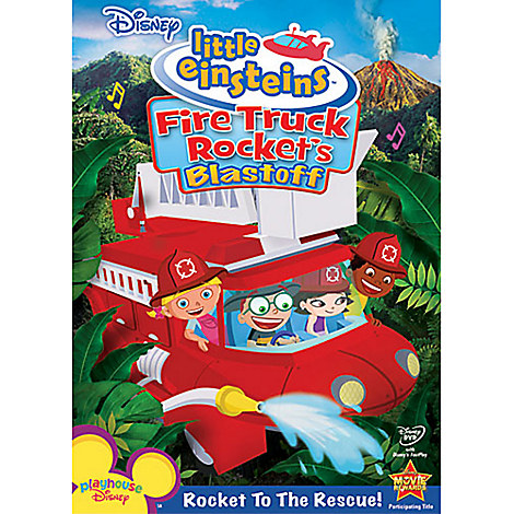 Little Einsteins: Fire Truck Rocket's Blastoff DVD