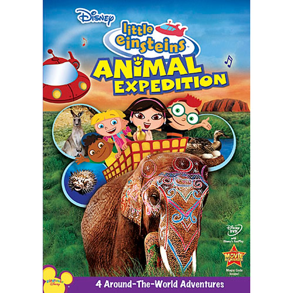 Little Einsteins: Animal Expedition DVD Official shopDisney