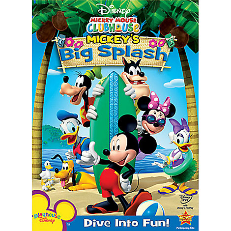 Mickey Mouse Clubhouse: Mickey's Big Splash DVD