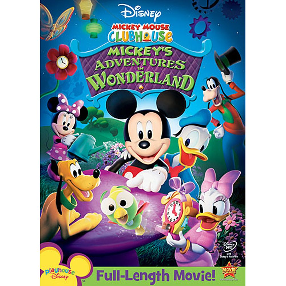 Mickey Mouse Clubhouse: Mickey's Adventures in Wonderland DVD