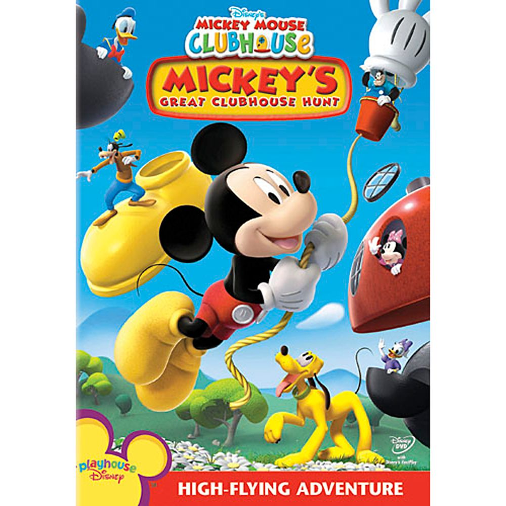 Mickey Mouse Clubhouse: Mickey's Great Clubhouse Hunt DVD Official shopDisney