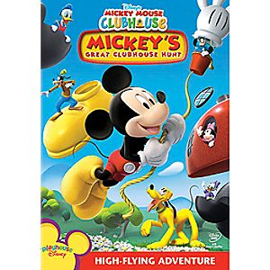 Mickey Mouse Clubhouse: Mickey's Great Clubhouse Hunt DVD 7745055550167P