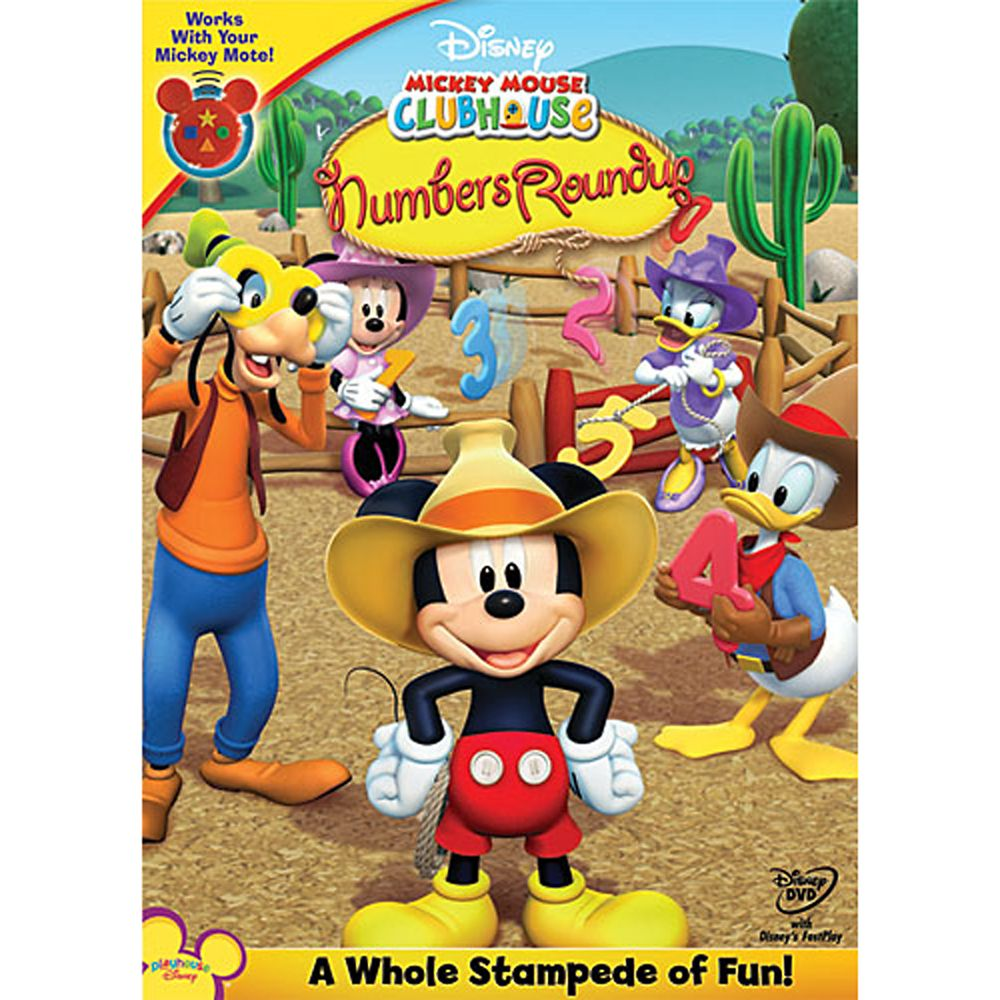Mickey Mouse Clubhouse: Mickey's Numbers Roundup DVD Official shopDisney