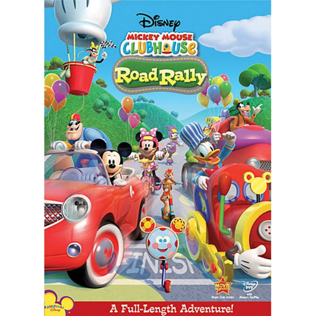 Mickey Mouse Clubhouse: Road Rally DVD