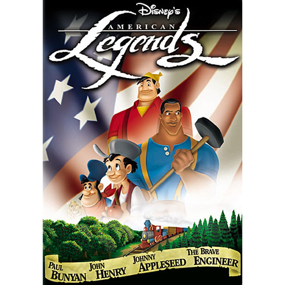 Disney's American Legends DVD