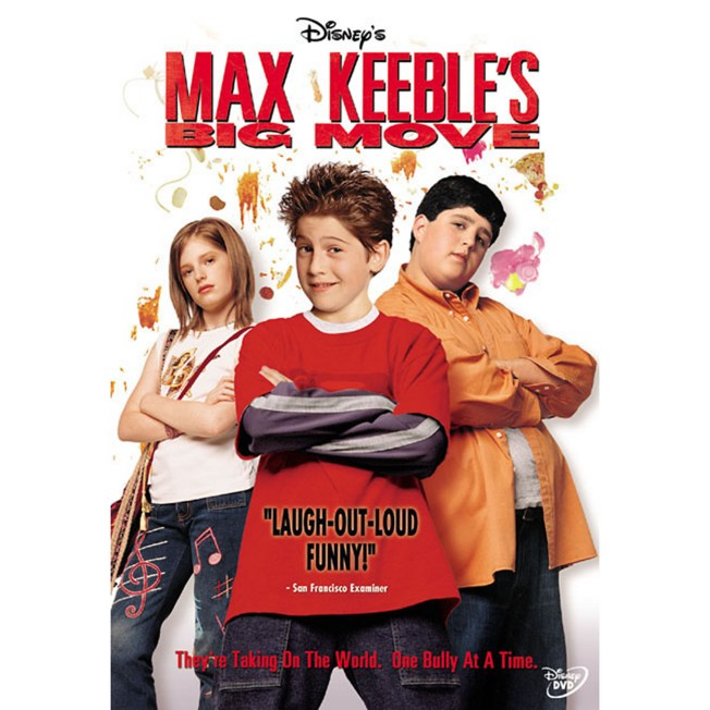 Max Keeble's Big Move DVD