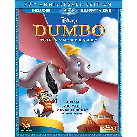 Dumbo - 2-Disc Blu-ray and DVD Combo Pack