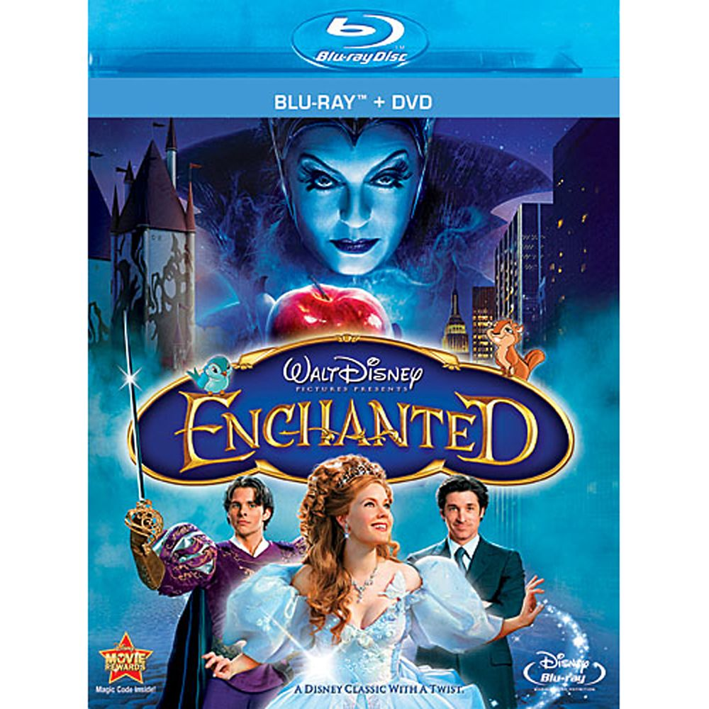 Enchanted  Blu-ray + DVD Combo Pack Official shopDisney