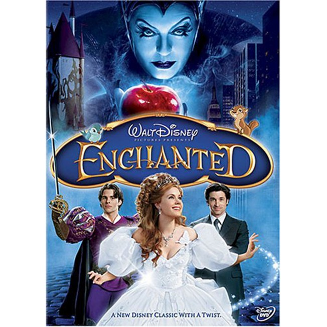 Enchanted DVD – Widescreen