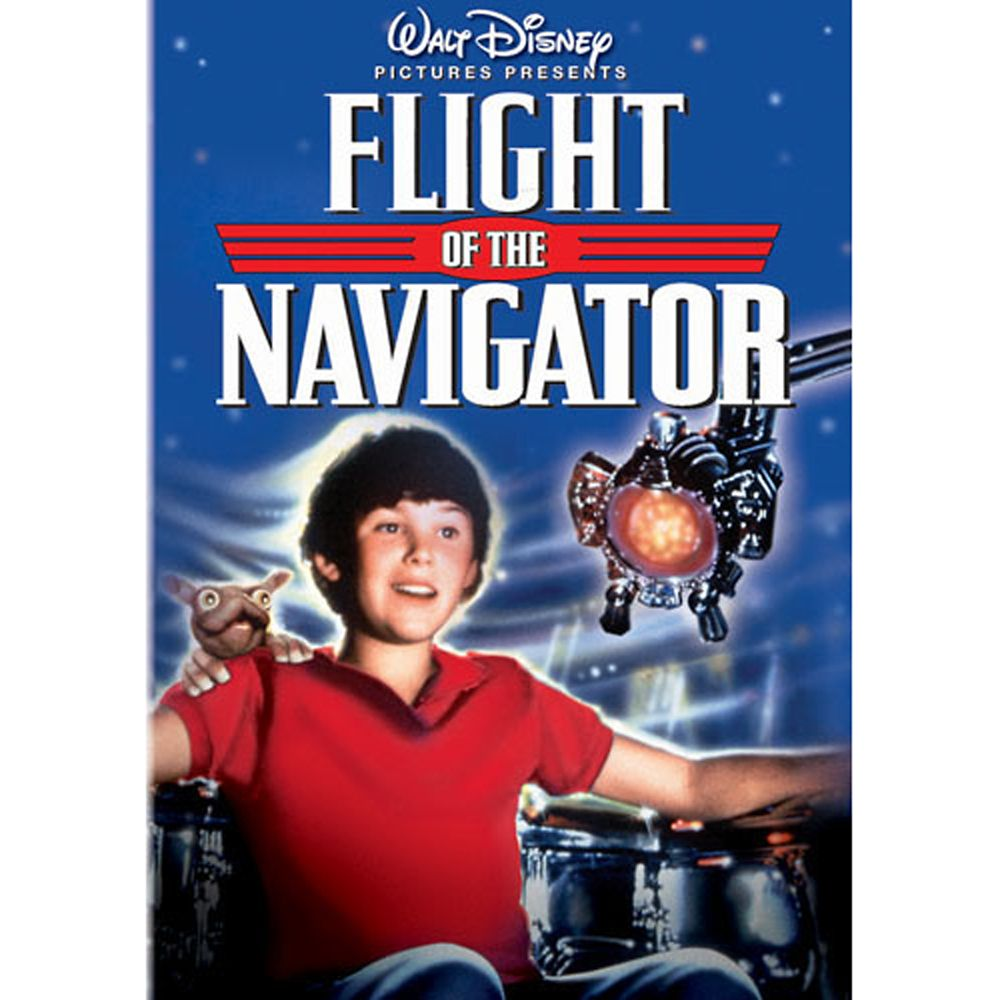 Flight of the Navigator DVD